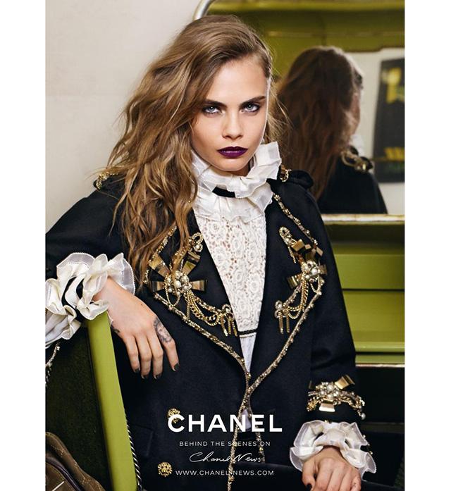 Первый взгляд: Кара Делевинь в кампании Chanel Paris-Salzburg