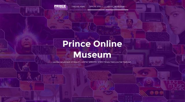Вглобальной паутине открылся онлайн-музей певца Принса