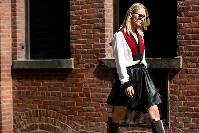 Fashion Week di New York / S 2015 S: street style.  Parte II