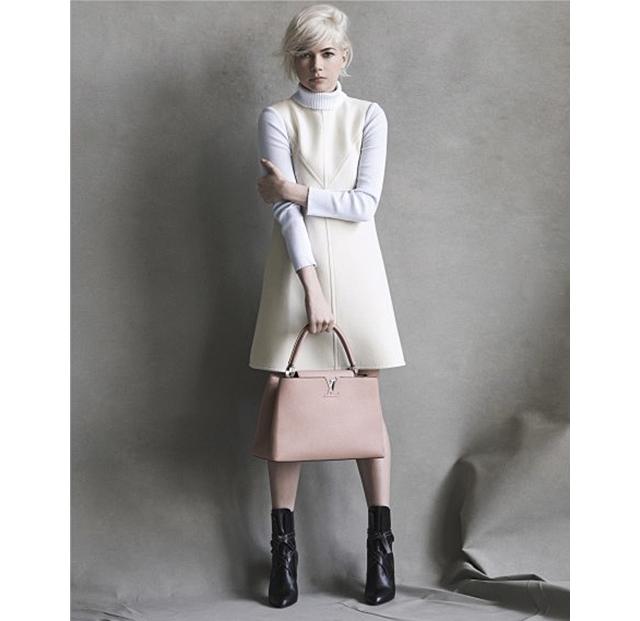 Мишель Уильямс третий сезон остается с Louis Vuitton