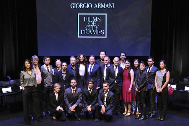 Presentazione progetto cinematografico Giorgio Armani Films di città Frames