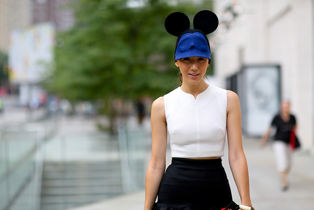 Fashion Week di New York / S 2015 S: street style.  Parte III
