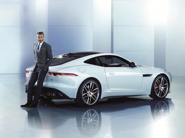 Дэвид Бекхэм стал лицом нового Jaguar F-TYPE Coupé