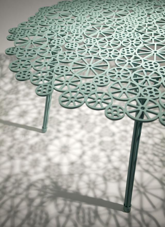 Ажурная мебель от Фернандо и Умберто Кампана на iSaloni