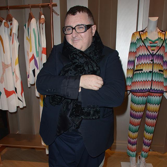 Открытие нового бутика Missoni в Париже