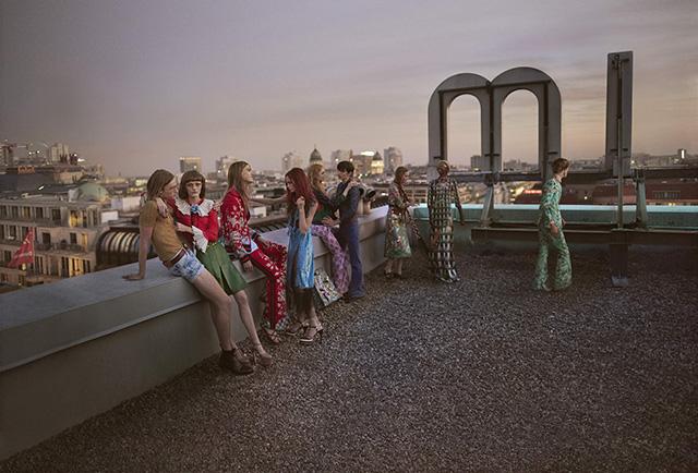 Берлин 1980-х в рекламной кампании Gucci весна-лето 2016
