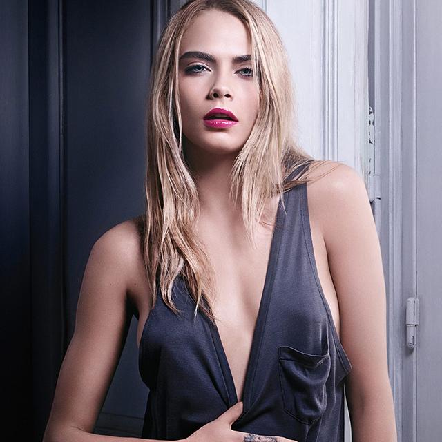 Кара Делевинь в новом видео YSL Beauty