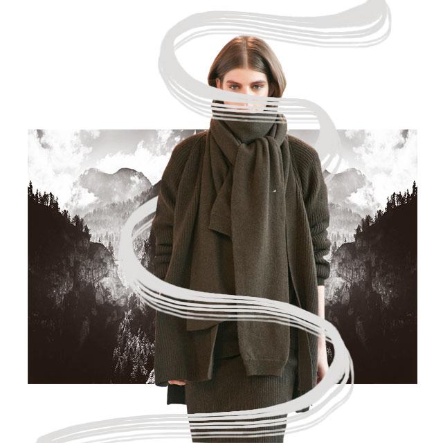 На заметку: свитер в качестве шарфа