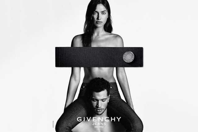 Первый взгляд Ирина Шейк снялась в рекламе джинсов Givenchy