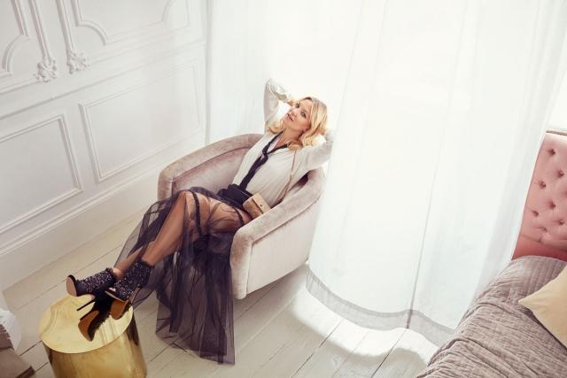 Кейт Хадсон в рекламной кампании Jimmy Choo