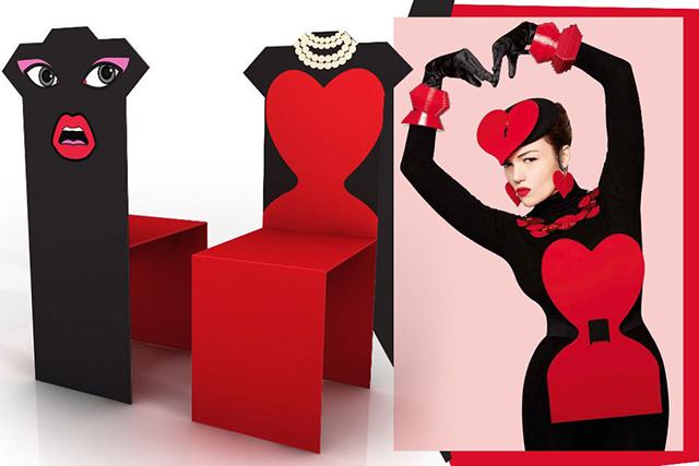 Пять модных дизайнеров создали коллекцию стульев