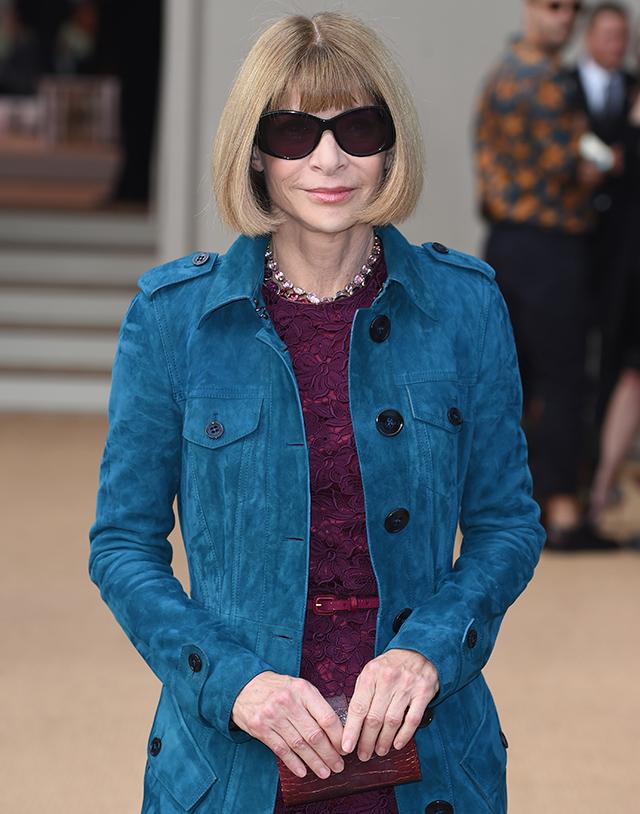 Анна Винтур получит награду на British Fashion Awards