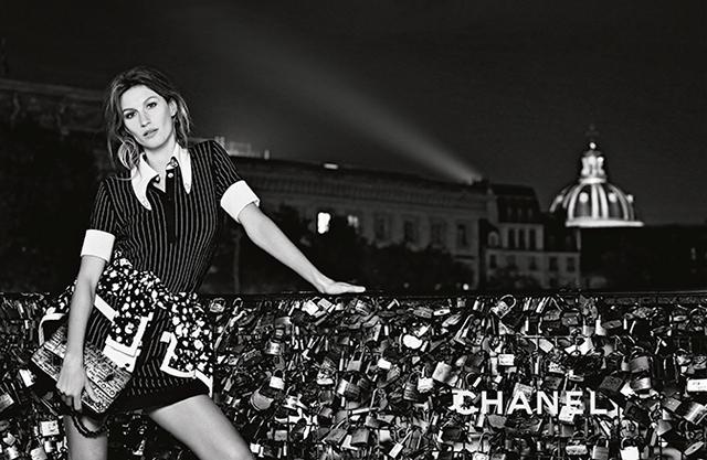 Жизель Бундхен в рекламной кампании Chanel