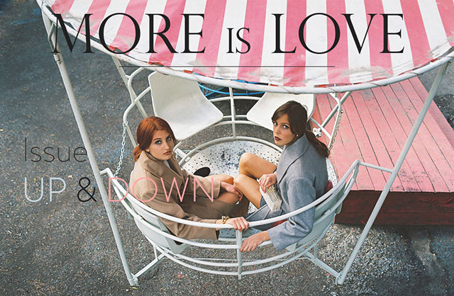 Парк культуры и отдыха: новая съемка MORE is LOVE