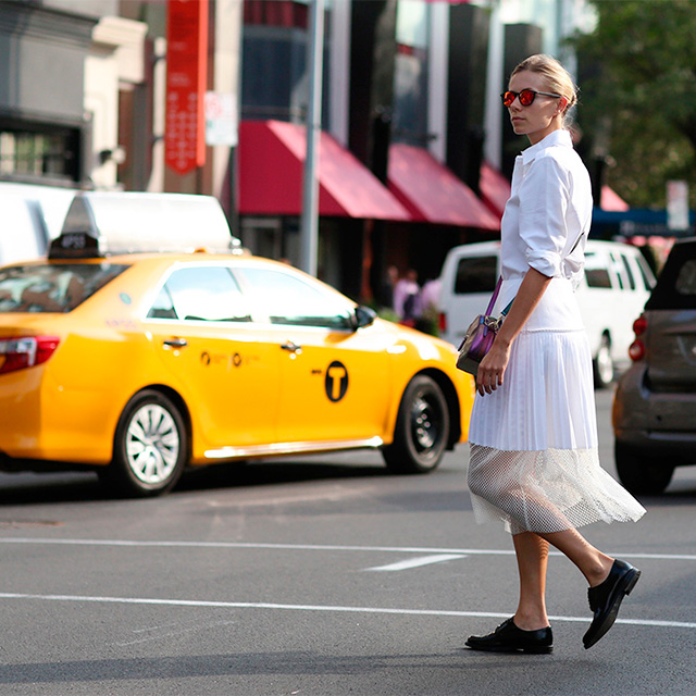 Fashion Week di New York / S 2015 S: street style.  Parte I