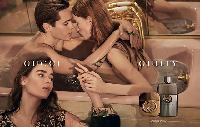 gucci guilty 1 - Обнаженный Джаред Лето и новый аромат Gucci.