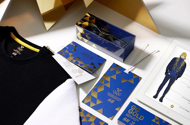 H&M одел олимпийцев вформу измусора