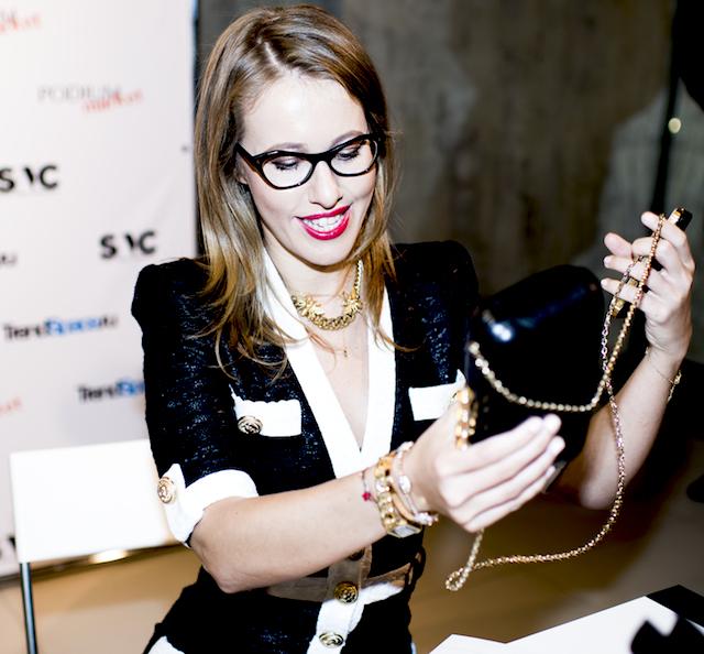 SNC Day: мода и искусство с Ксенией Собчак