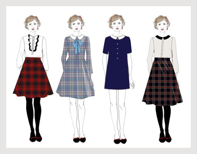 Школа благородных девиц: школьная форма от A la Russe