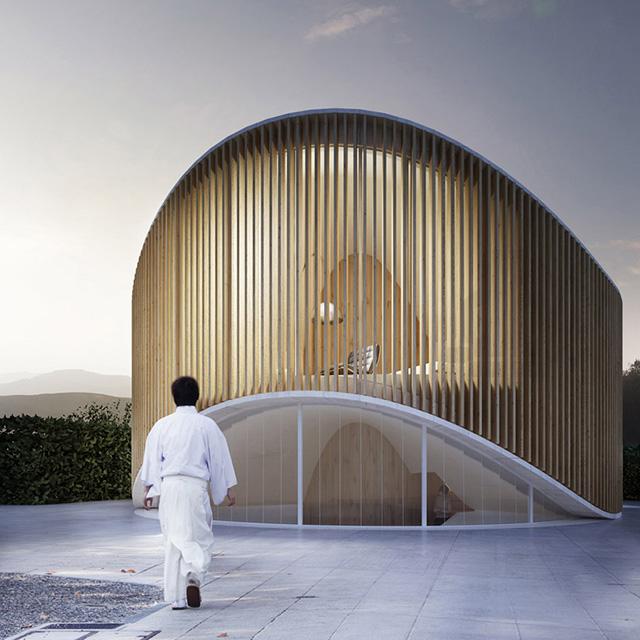 Дом как дерево: арт-резиденция от архитекторов Penda