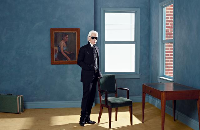Карл Лагерфельд открывает новую фотовыставку