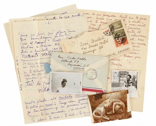 Любовные письма Фриды Кало нашли нового владельца