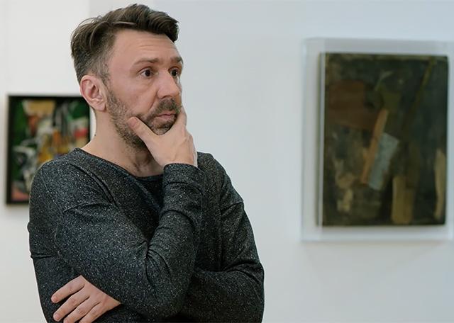 Сергей Шнуров снялся врекламе Третьяковской галереи