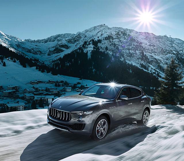 Дебют в Женеве Maserati Levante