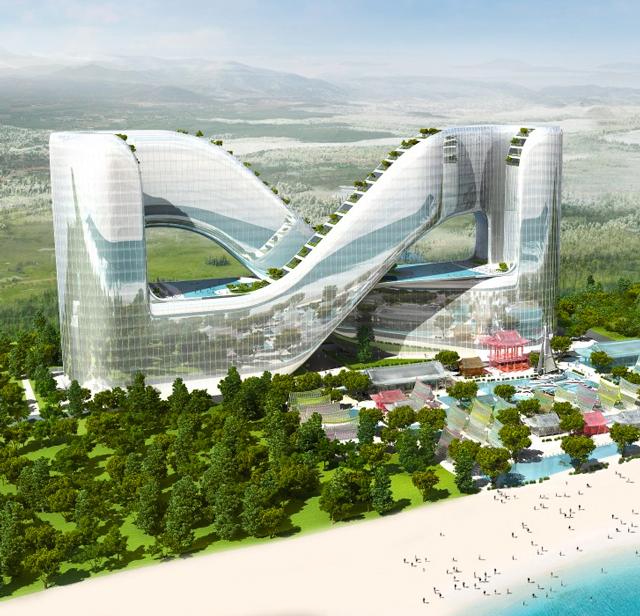 Сеульские архитекторы представили проект олимпийского отеля