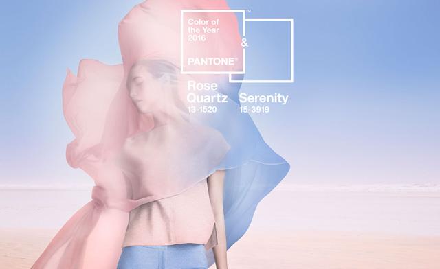 Знакомьтесь'Розовый кварц и'Безмятежность — два главных цвета 2016 года по версии Pantone