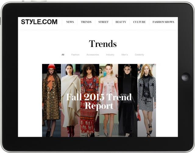 Style.com превратится в интернет-магазин