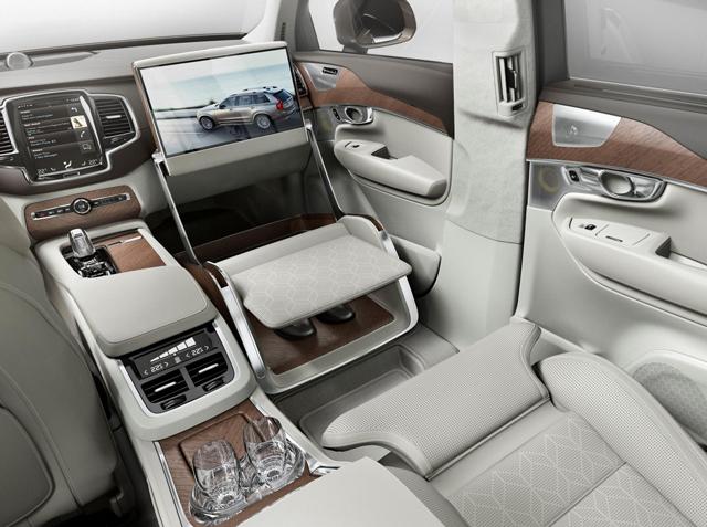 Volvo представили новую концепцию Lounge Console
