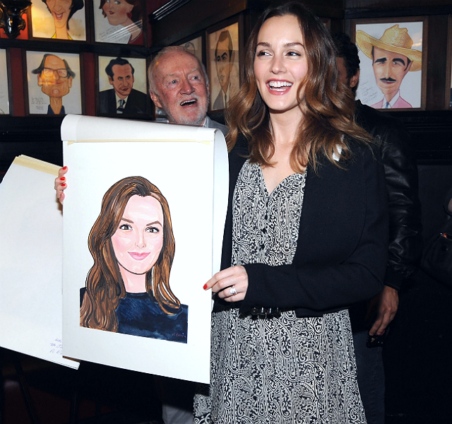 Лейтон Мистер и Джеймс Франко украсили ресторан Sardi's своими портретами