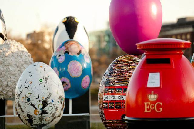 Яйца Фаберже на улицах Нью-Йорка