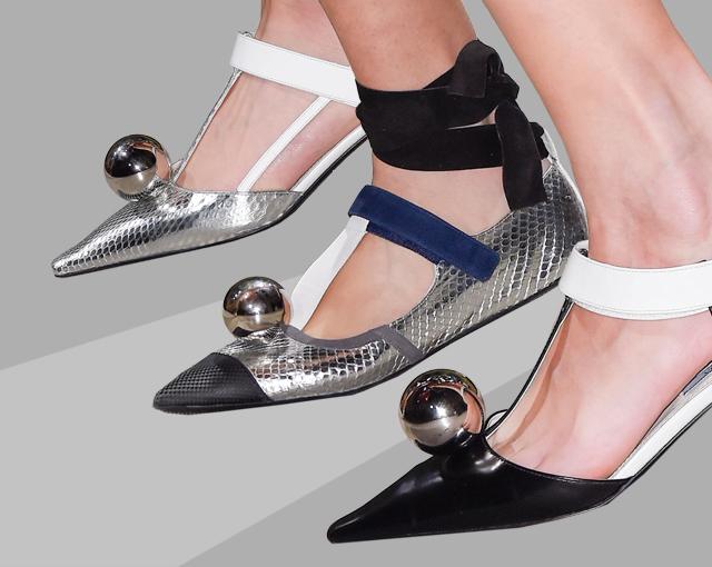 туфли Prada из весенней коллекции