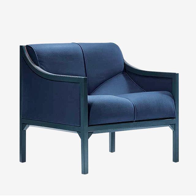 Кресло из президентского дворца в Париже, диз. П. Полен. 1984. Galerie Demisch Danant