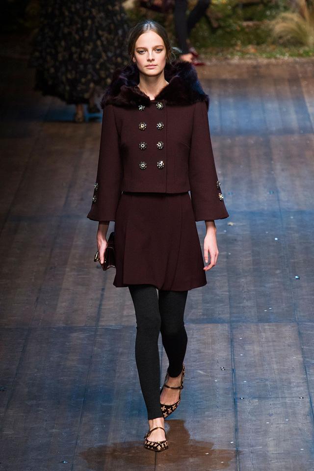 Dolce & Gabbana осень-зима 2014/15