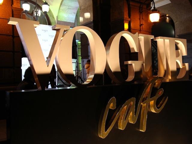 Открытие Vogue Cafe в Киеве