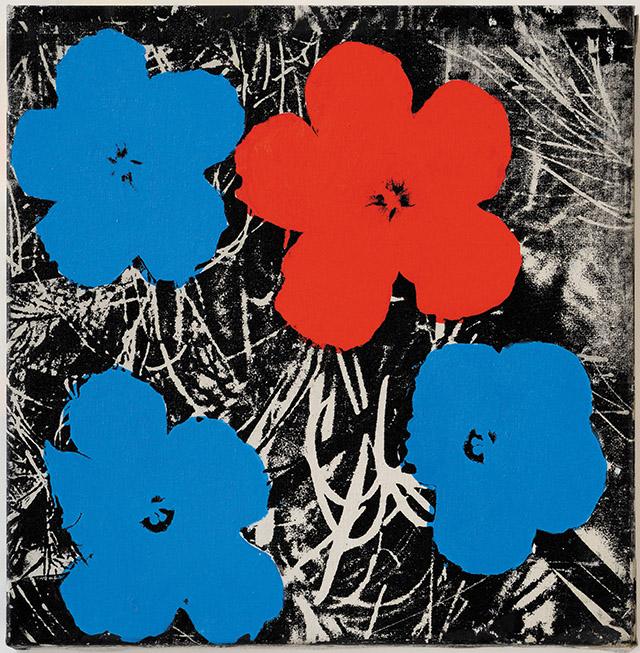 Стертевант. Warhol Flowers, 1964–65