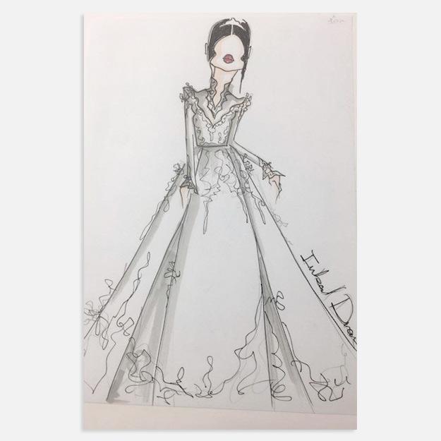 f71a9012105 Меган Маркл получила эскизы свадебного платья