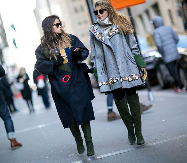 2ef26c064914 Неделя моды в Нью-Йорке, осень-зима 2016  street style. Часть 1 ...
