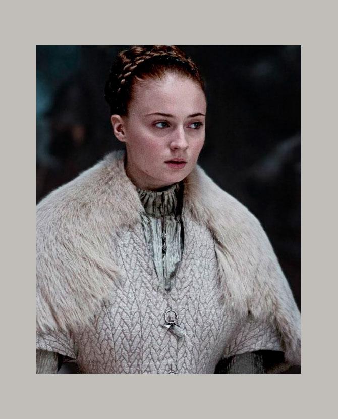 Софи Тернер удивил спойлер финала «Игры престолов» напостере первого сезона