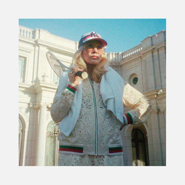 Фэй Данауэй играет в теннис с Соко в новой кампании Gucci   Buro 24 7 e66088f408a
