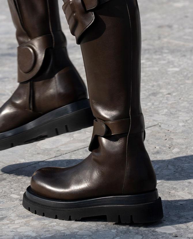 a5ffa3b5 Обувь сезона осень-зима 2019: мотоциклетные ботинки, рыбацкие сапоги и  туфли с квадратным