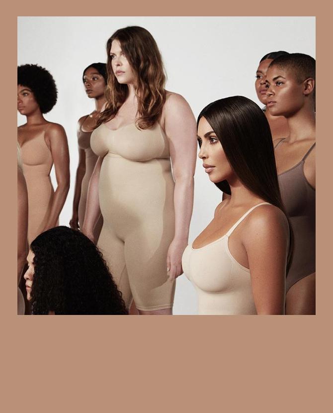 Ким Кардашьян объявила новое название своего бельевого бренда и назвала дату его запуска