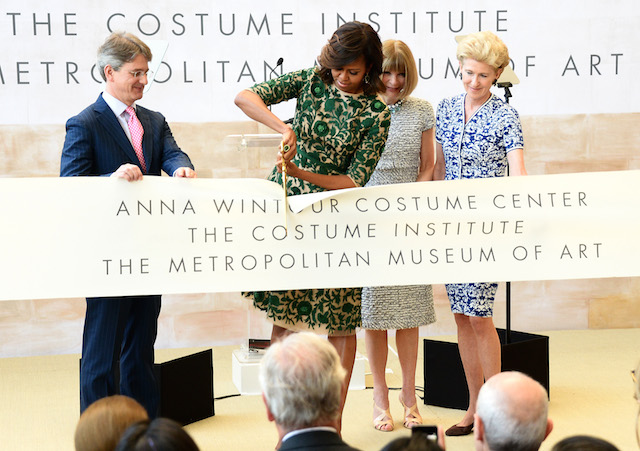 Открытие Anna Wintour Costume Center в Нью-Йорке