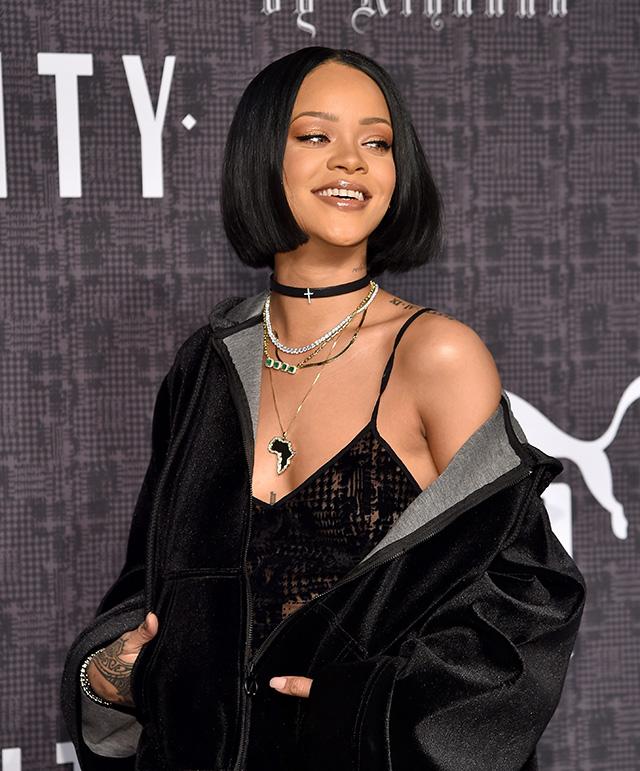 Гости показа Fenty Puma by Rihanna в Нью-Йорке   Buro 24 7 ce8fca79192
