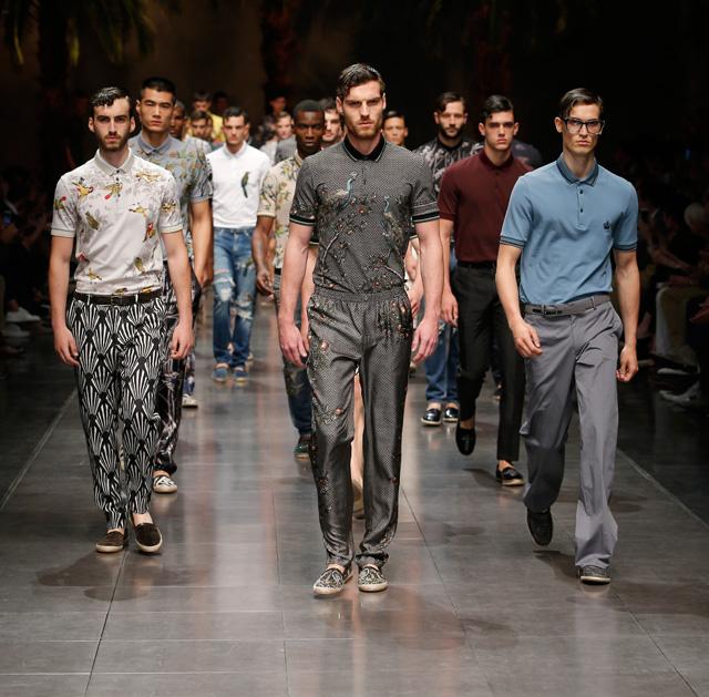 9d5c098c784 Неделя мужской моды в Милане  Dolce   Gabbana