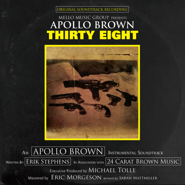 Альбом недели: Apollo Brown — Thirty Eight