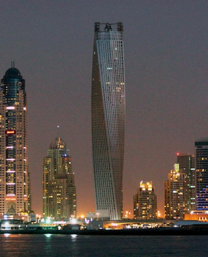 Башня спираль дубай самая популярная недвижимость за рубежом
